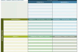 003 Amazing Strategic Planning Template Excel Free Sample