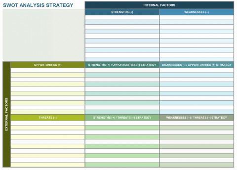 003 Amazing Strategic Planning Template Excel Free Sample 480