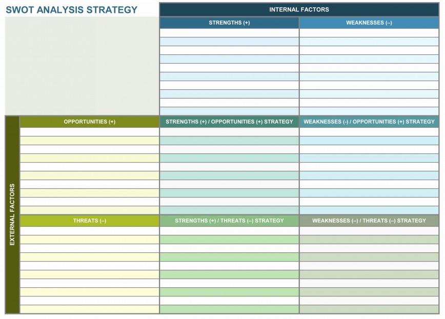 003 Amazing Strategic Planning Template Excel Free Sample 868