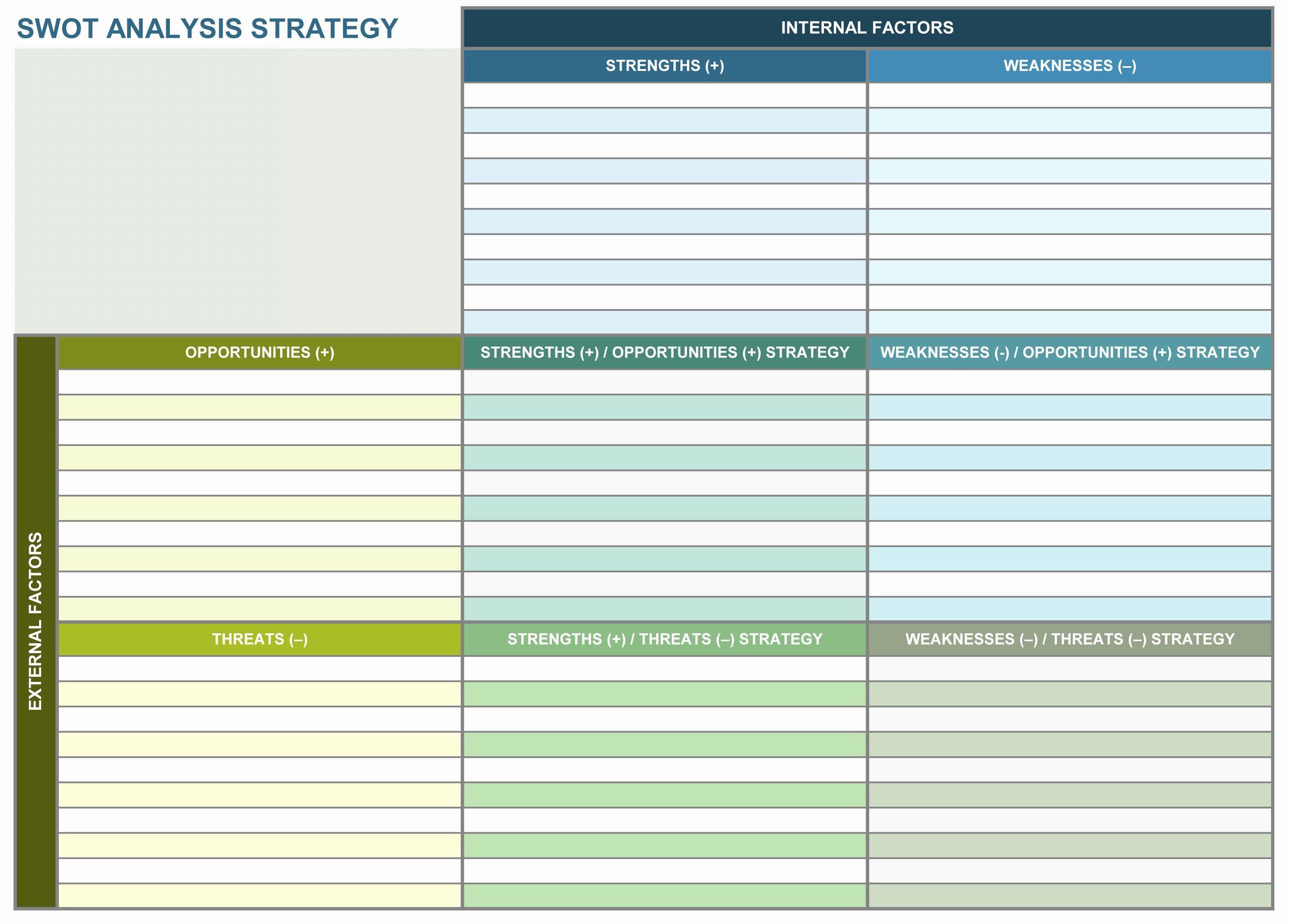 003 Amazing Strategic Planning Template Excel Free Sample Full