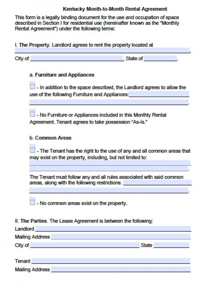 003 Amazing Template For Renter Lease Agreement Photo  Free Apartment728