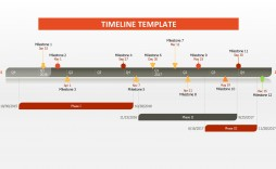003 Amazing Timeline Template For Word 2016 Photo