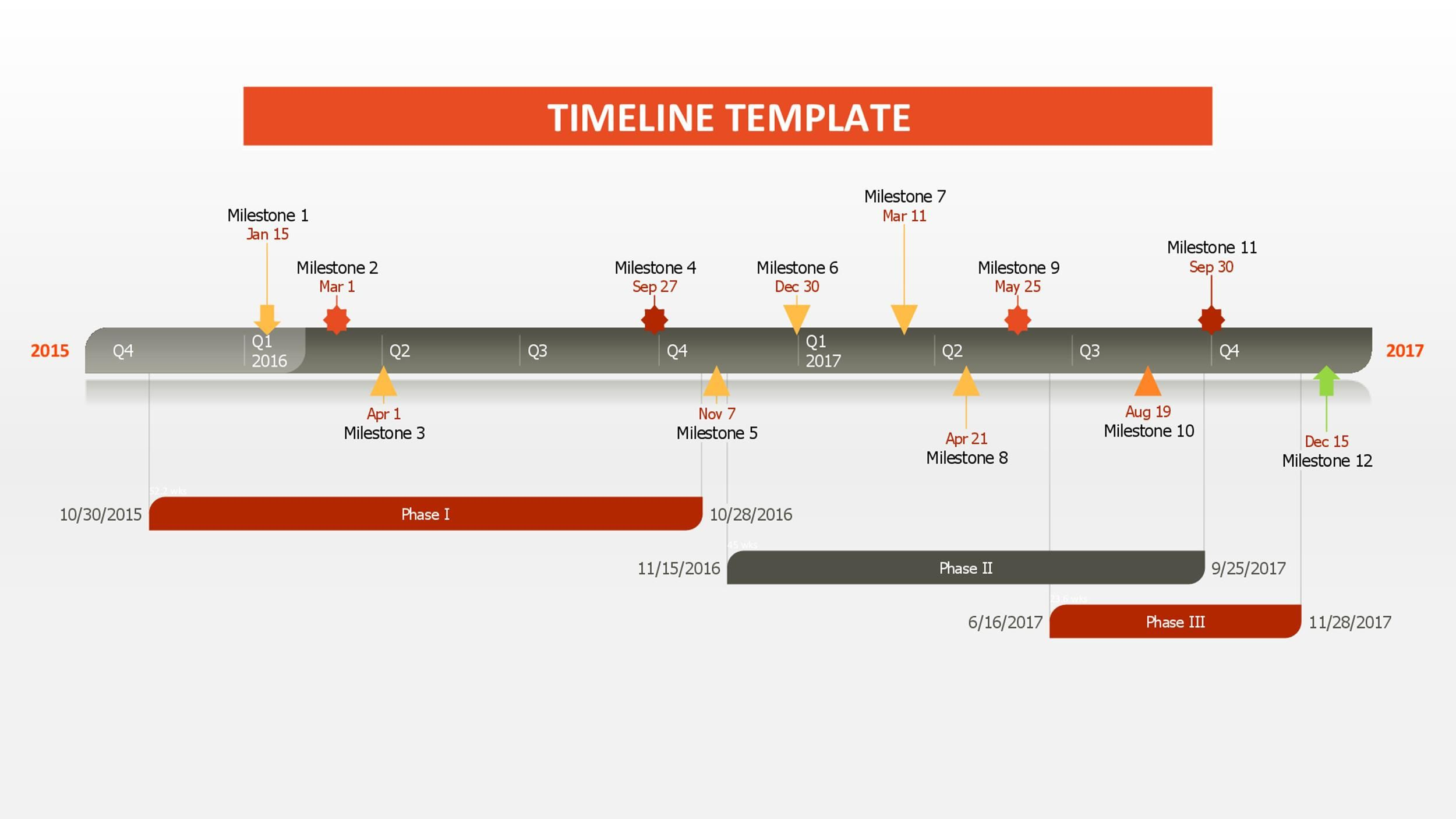 003 Amazing Timeline Template For Word 2016 Photo Full
