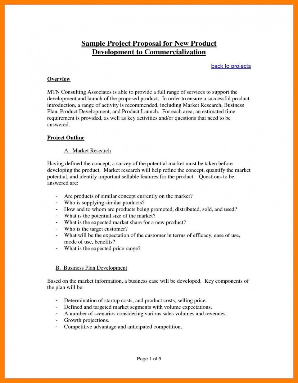 003 Amazing Web Development Proposal Template Pdf Sample 960