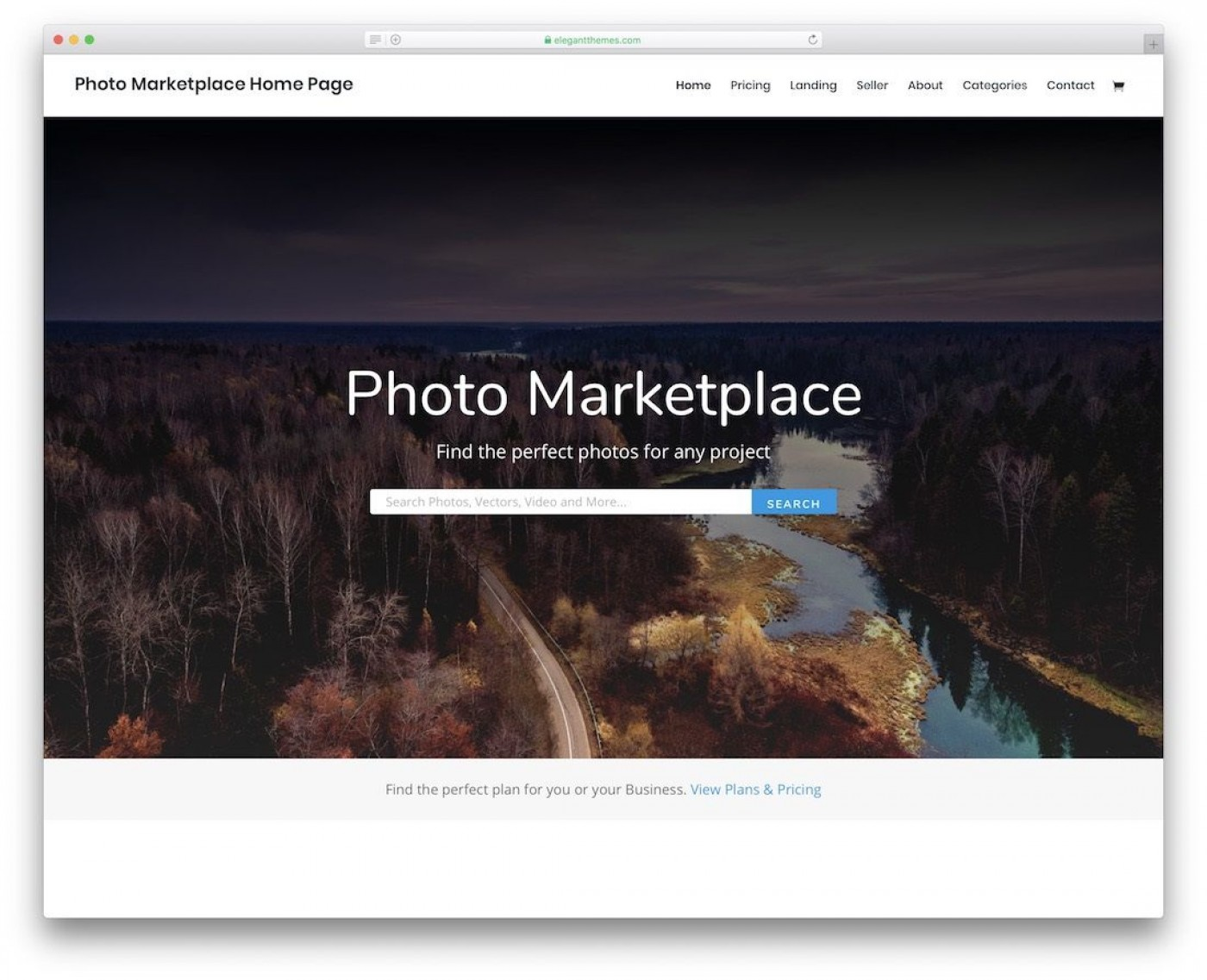 003 Amazing Web Template For Photographer Concept  Photography1400