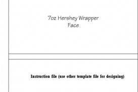 003 Archaicawful Chocolate Bar Wrapper Template Free Idea  Printable Hershey Candy Valentine