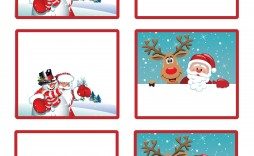 003 Archaicawful Christma Label Template Free Highest Clarity  Present Gift Tag Editable Mailing