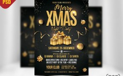 003 Archaicawful Christma Party Flyer Template Free Photo  Company Invitation Printable Word