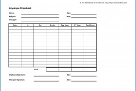 003 Archaicawful Employee Time Card Printable Idea  Timesheet Template Excel Free Multiple Sheet