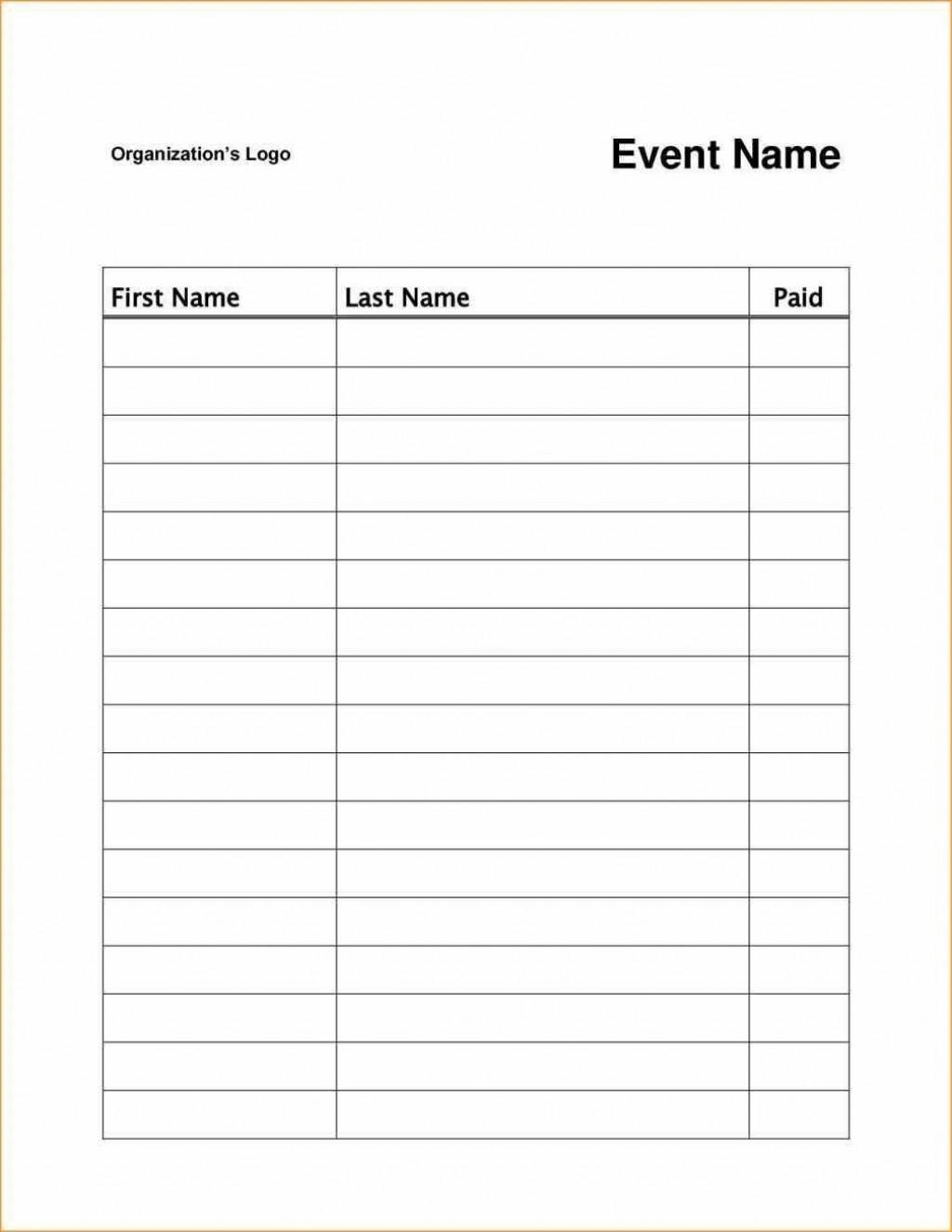 003 Archaicawful Event Sign Up Sheet Template High Resolution  In Google Doc FreeLarge