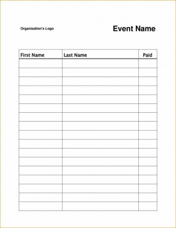 003 Archaicawful Event Sign Up Sheet Template High Resolution  In Google Doc Free360