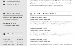 003 Archaicawful Example Cv Template Word  Resume