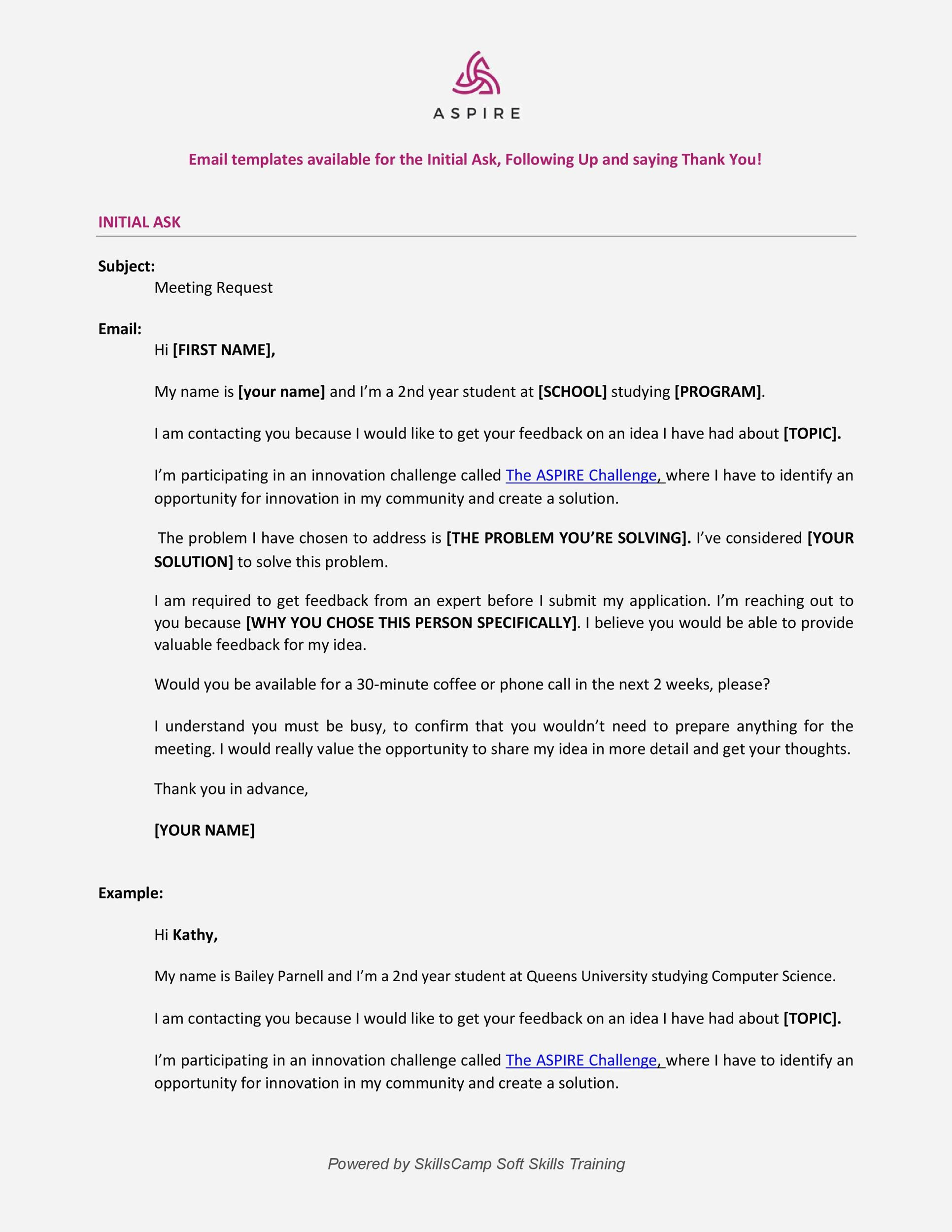 003 Archaicawful Follow Up Email Template Request Highest Quality Full