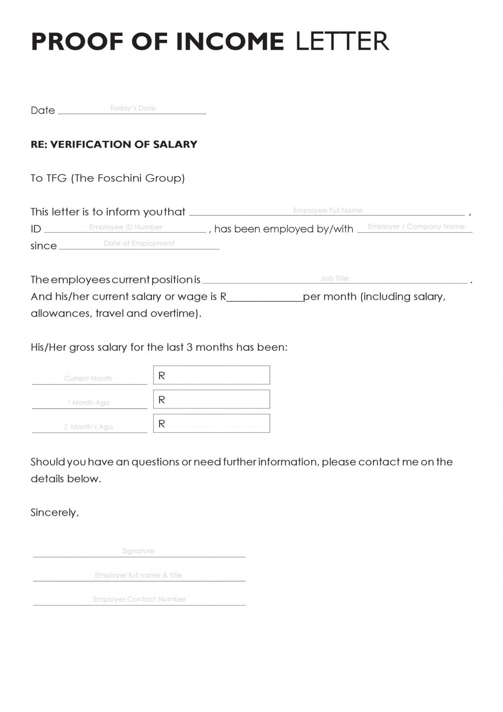 003 Archaicawful Free Income Verification Form Template High Def Large