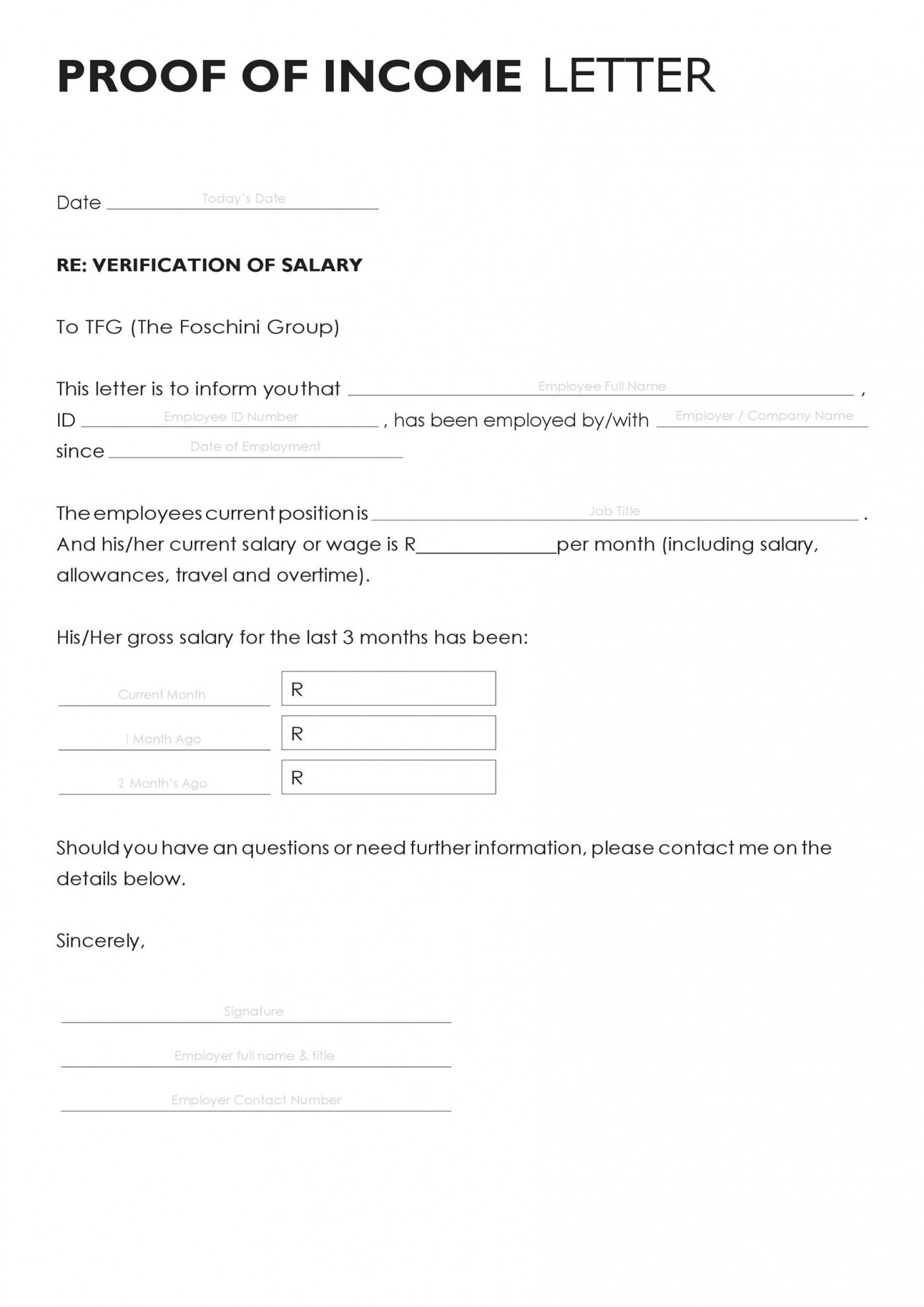 003 Archaicawful Free Income Verification Form Template High Def 1400