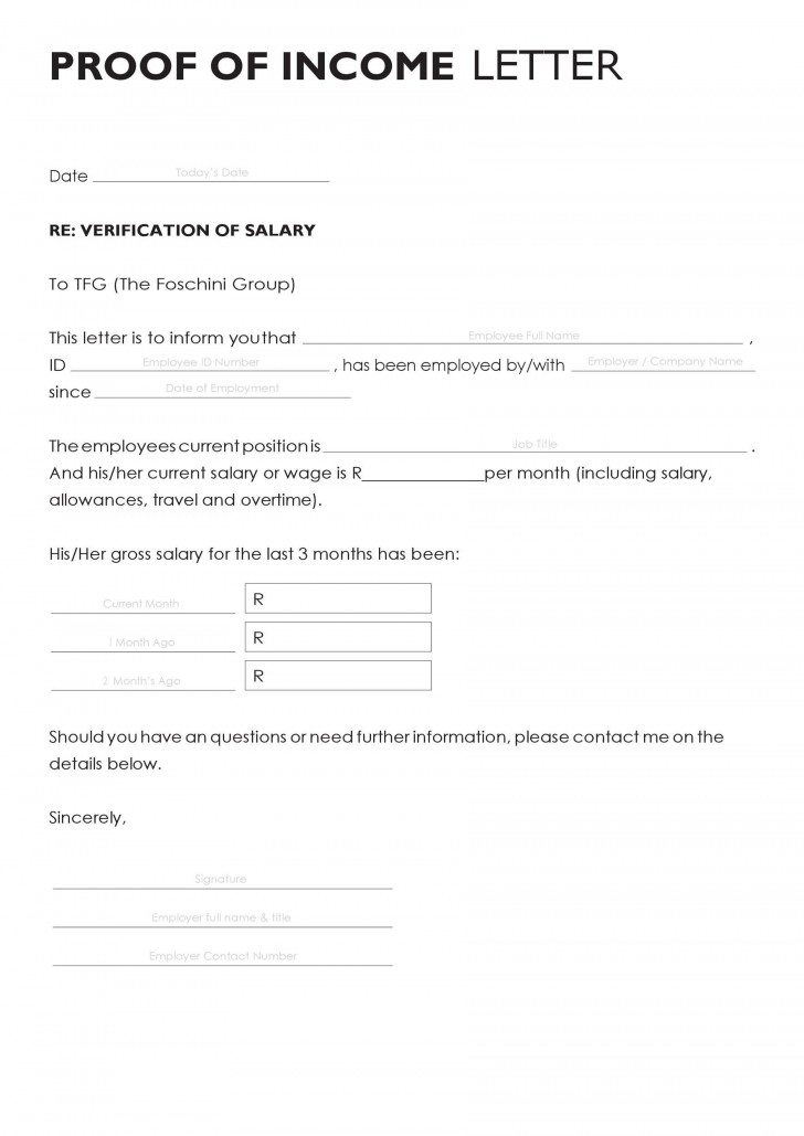003 Archaicawful Free Income Verification Form Template High Def 728