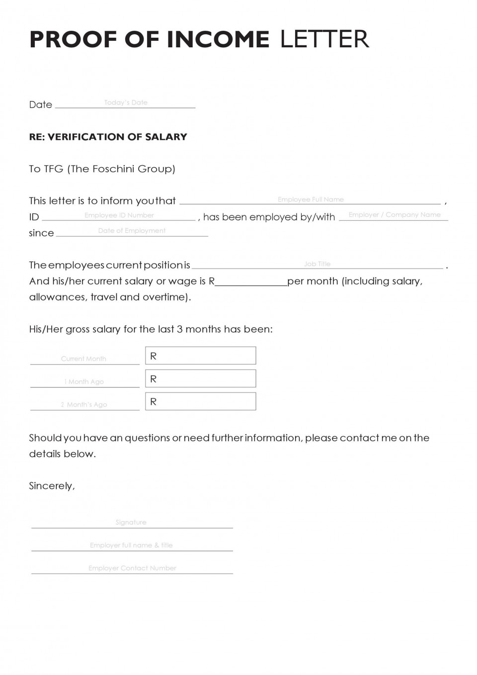 003 Archaicawful Free Income Verification Form Template High Def 960