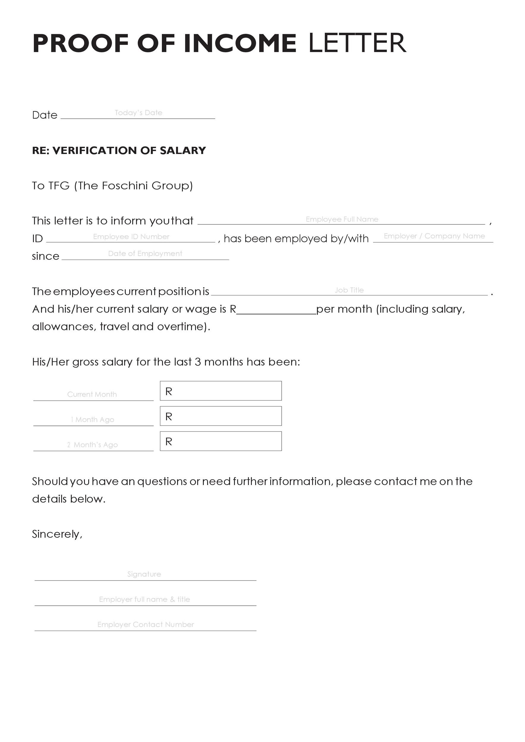 003 Archaicawful Free Income Verification Form Template High Def Full
