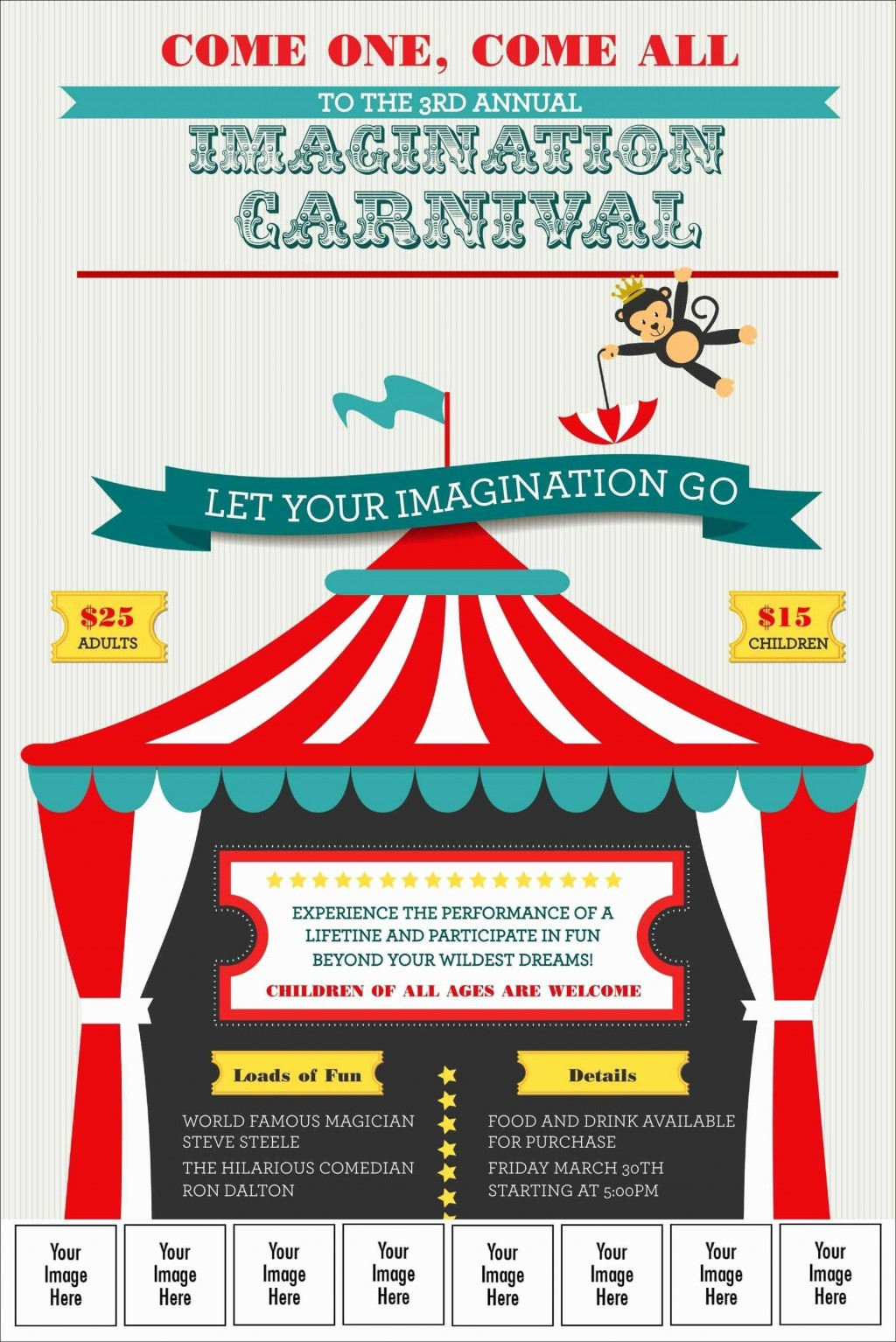 003 Archaicawful Free School Carnival Flyer Template Design  Templates DownloadLarge
