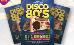 003 Archaicawful Free School Disco Flyer Template Inspiration  Templates Poster