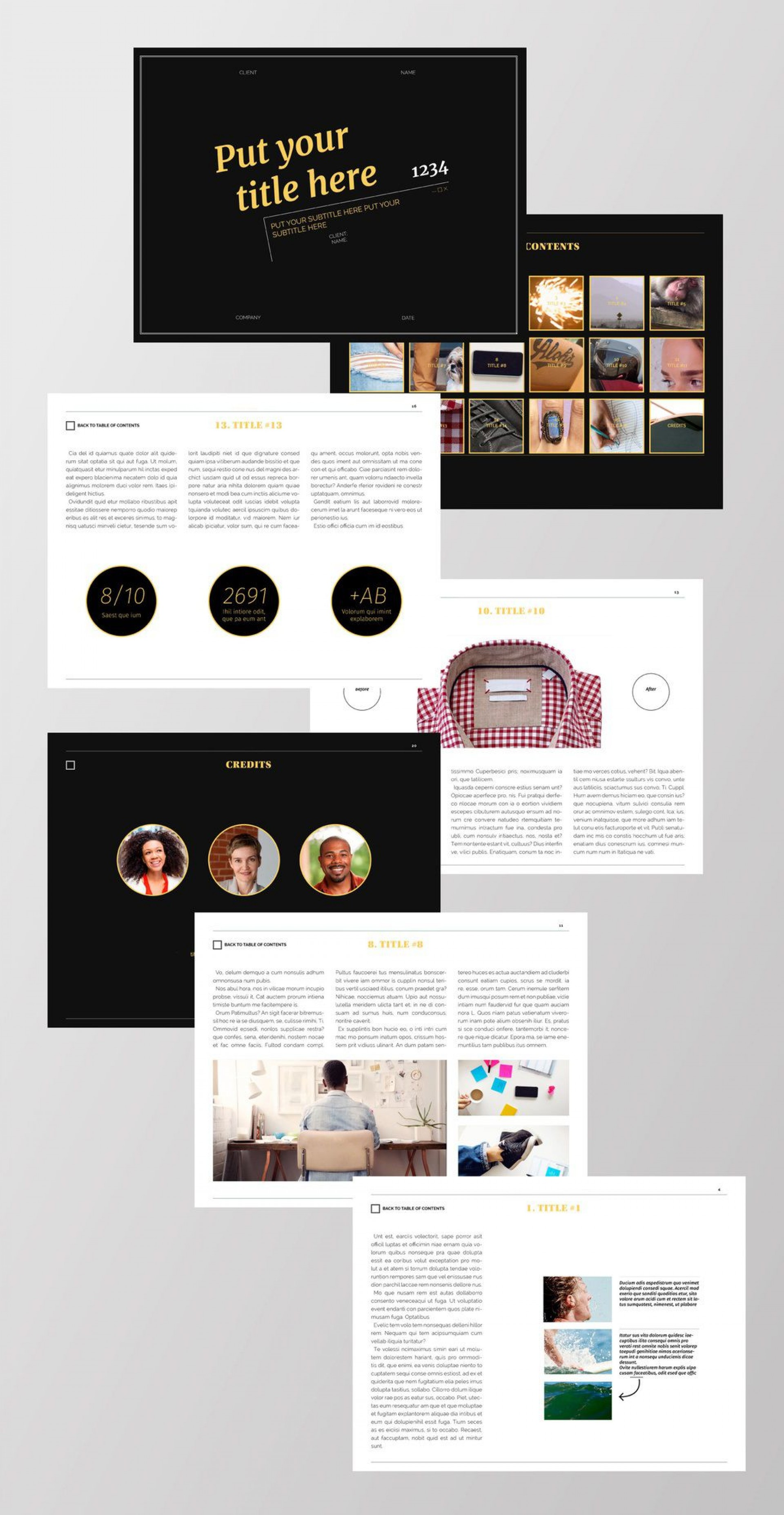 003 Archaicawful Indesign Magazine Template Free Photo  Cover Download Indd Cs51920