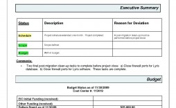 003 Archaicawful Project Management Monthly Progres Report Template Image