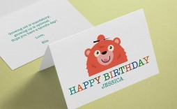 003 Archaicawful Quarter Fold Greeting Card Template Word Idea