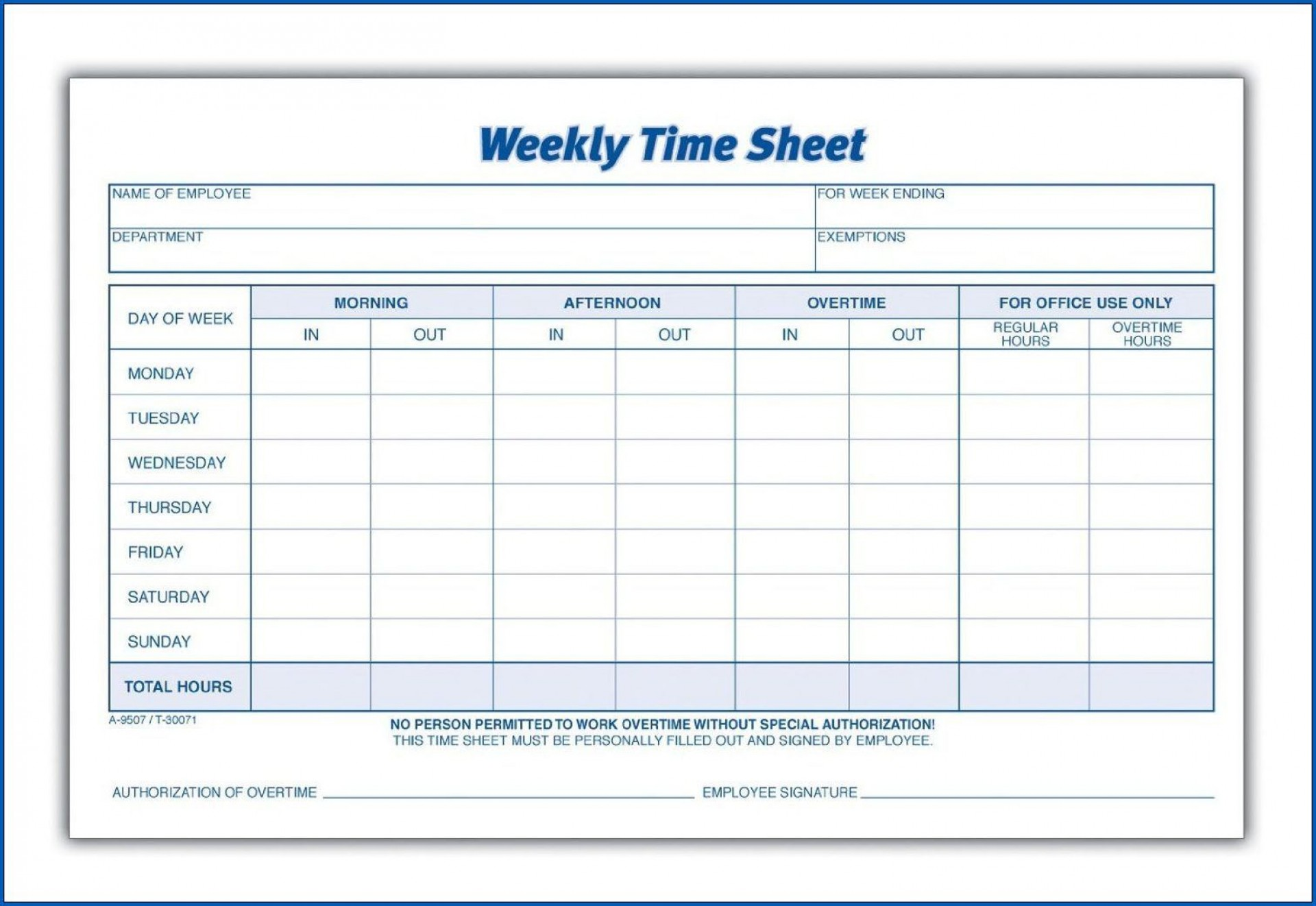 003 Archaicawful Weekly Timesheet Template Excel Photo  Simple Free1920