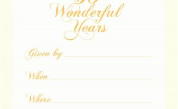 003 Astounding 50th Wedding Anniversary Invitation Template Inspiration  Templates Golden Uk Free Download