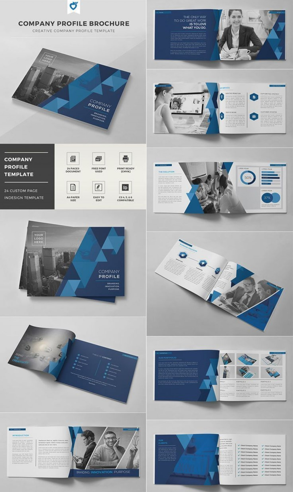 003 Astounding Busines Brochure Design Template Free Download Inspiration Large