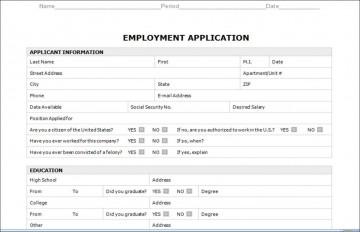 003 Astounding Employment Application Form Template M Word Photo  Job Microsoft Description360
