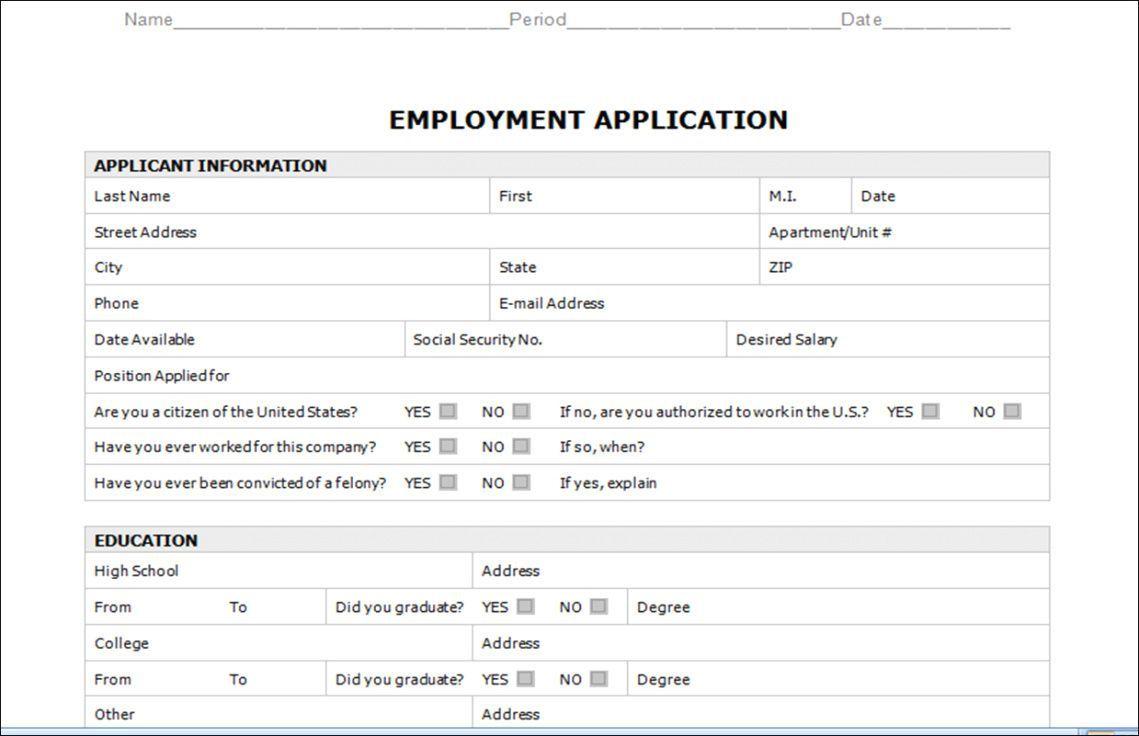 003 Astounding Employment Application Form Template M Word Photo  Job Microsoft DescriptionFull