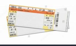 003 Astounding Free Editable Concert Ticket Template High Definition  Psd Word