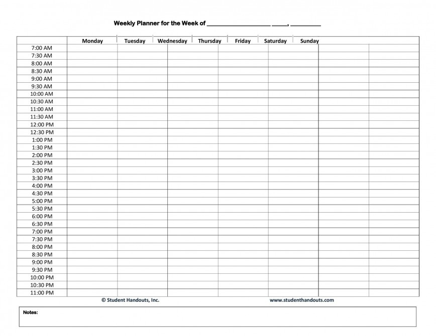 003 Astounding Free Hourly Schedule Template Word Sample 868