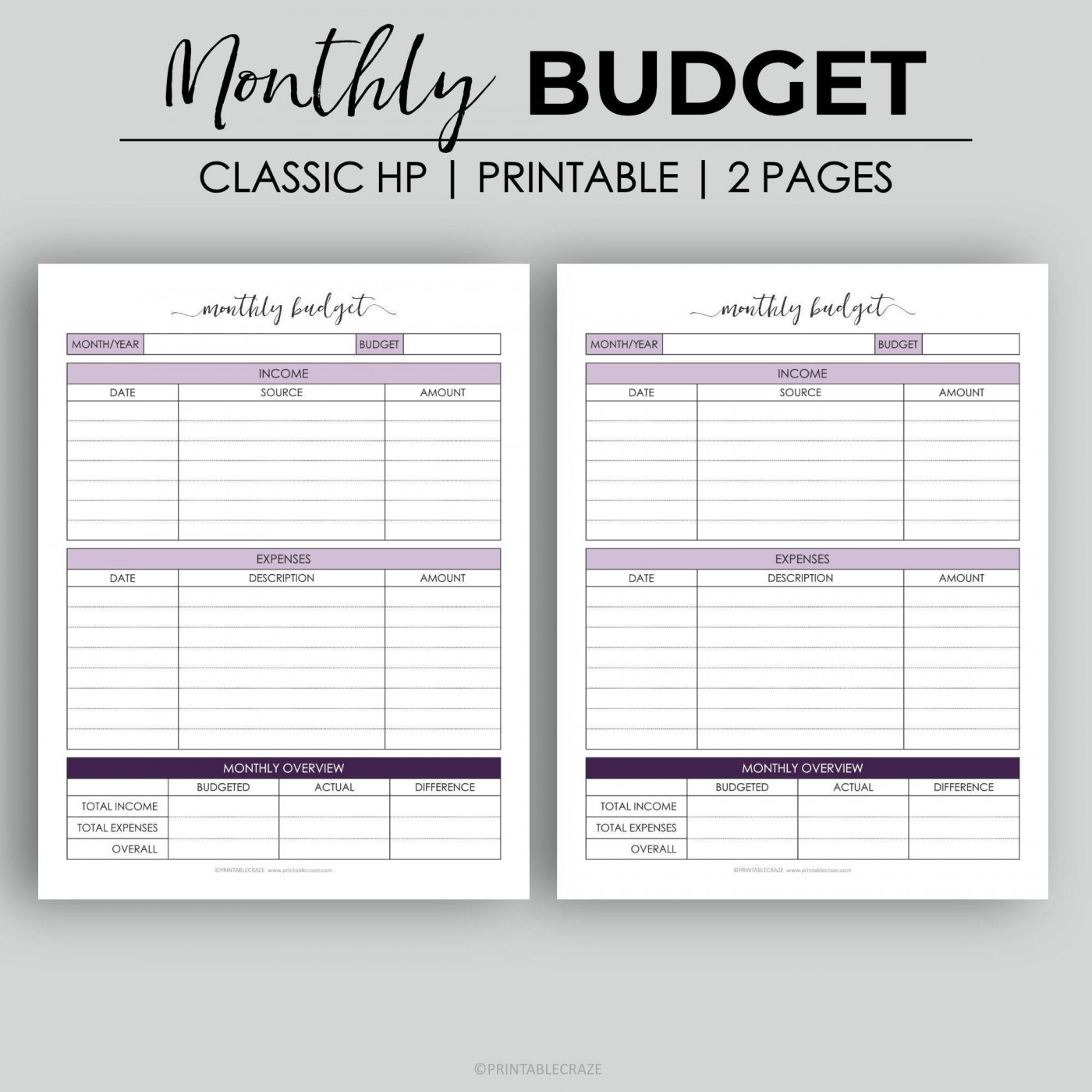 003 Astounding Free Monthly Budget Template Design  Household Excel Expense Report Download1400
