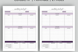 003 Astounding Free Monthly Budget Template Design  Household Excel Expense Report Download
