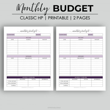 003 Astounding Free Monthly Budget Template Design  Household Excel Expense Report Download360