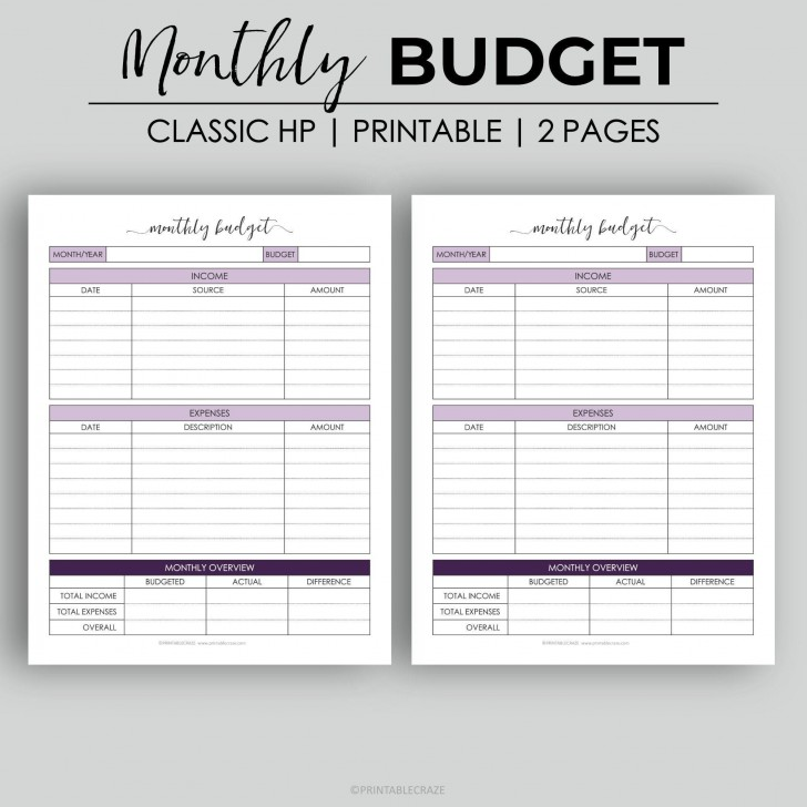 003 Astounding Free Monthly Budget Template Design  Household Excel Expense Report Download728