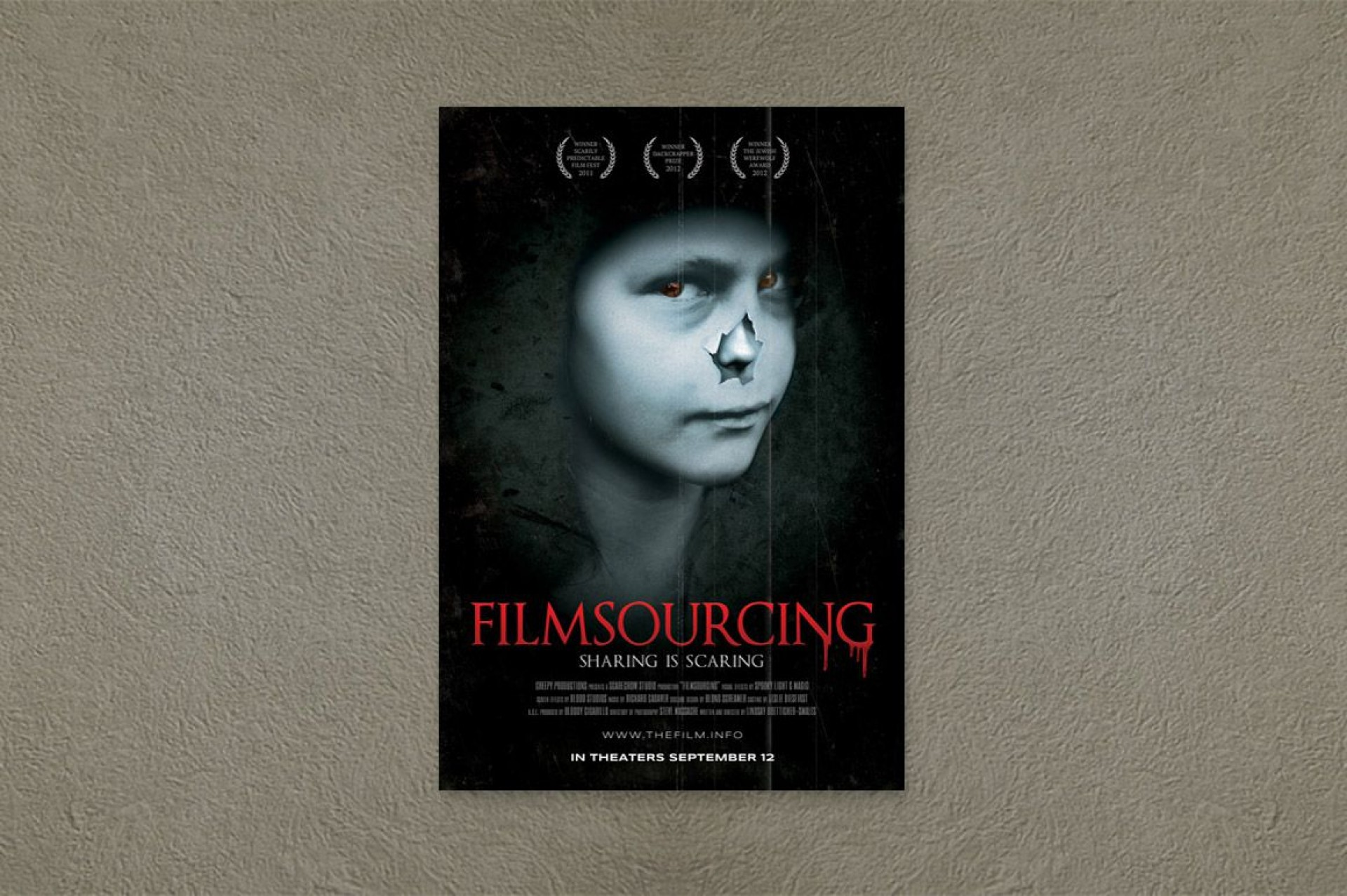 003 Astounding Free Photoshop Movie Poster Template Concept  Templates1920