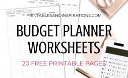 003 Astounding Free Printable Home Budget Form Image  Forms Spreadsheet Template