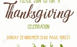 003 Astounding Free Thanksgiving Invitation Template Design  Templates Printable Dinner Download Potluck