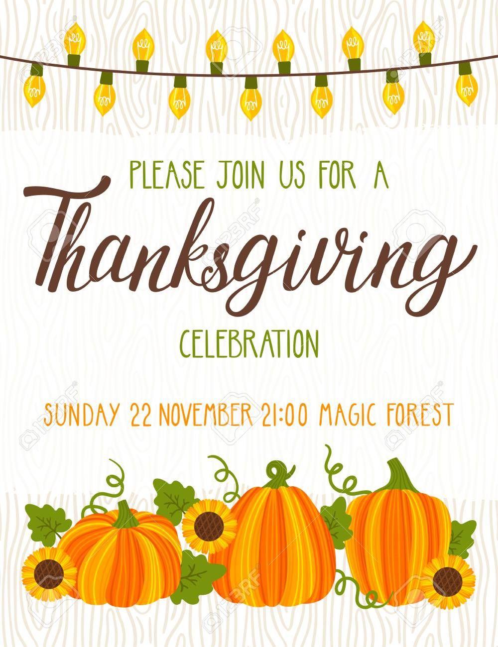 003 Astounding Free Thanksgiving Invitation Template Design  Templates Printable Dinner Download PotluckFull