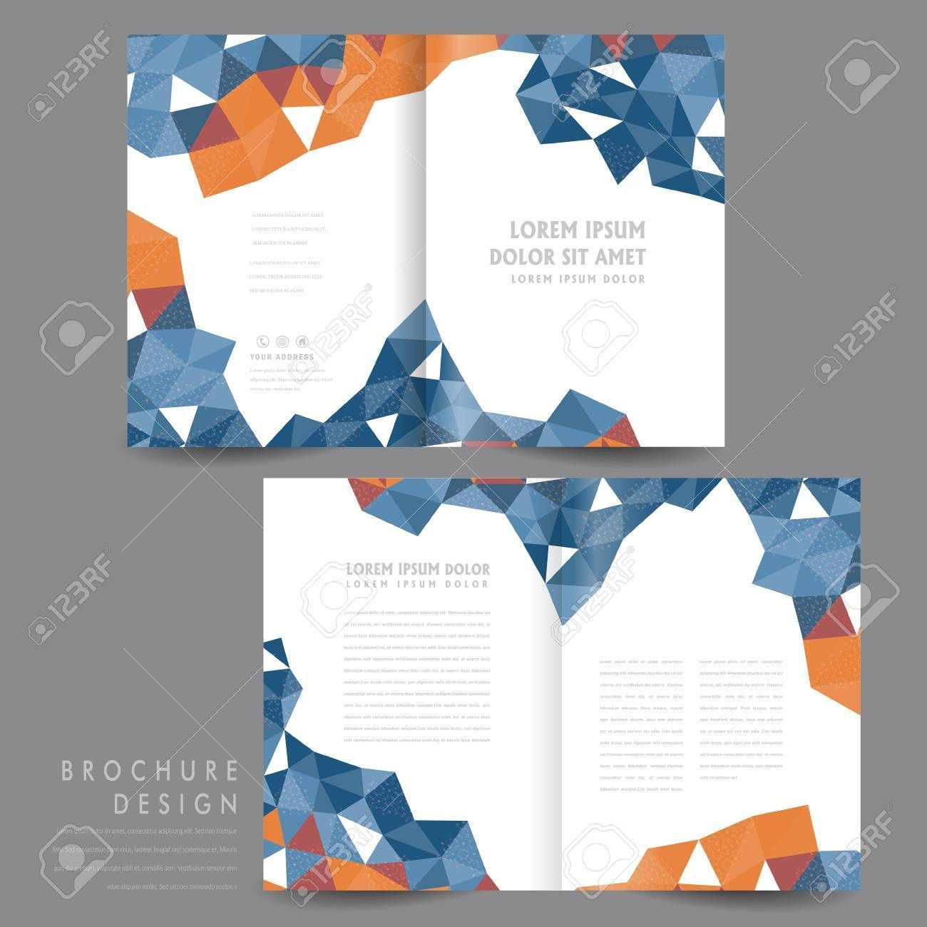 003 Astounding Half Fold Brochure Template Picture  Free Microsoft Word IndesignFull