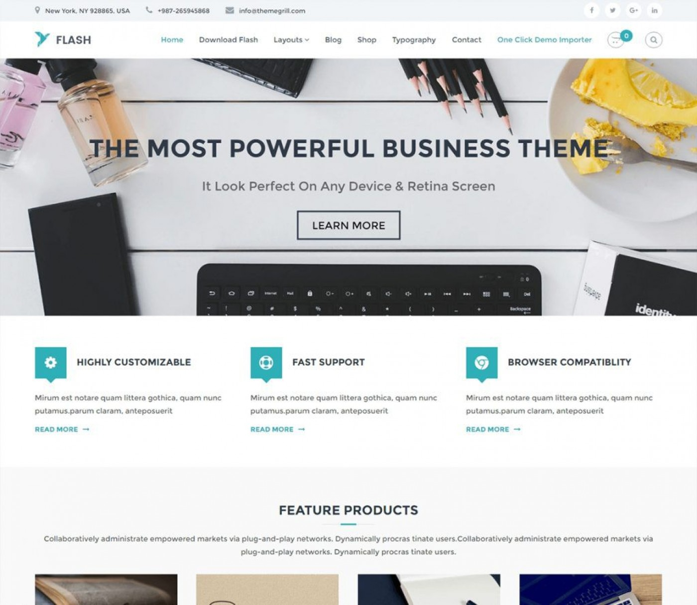 003 Astounding Professional Busines Website Template Free Download Wordpres Image 1400