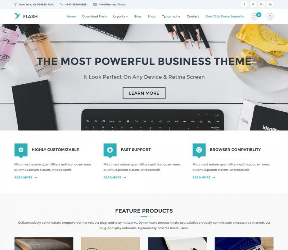 003 Astounding Professional Busines Website Template Free Download Wordpres Image 960