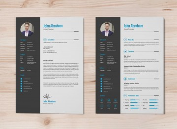 003 Astounding Professional Resume Template 2018 Free Download Inspiration 360