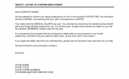 003 Astounding Proof Of Employment Letter Template Design  Confirmation Word Free