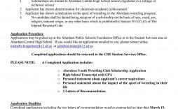 003 Astounding Scholarship Application Template Word Idea  College Letter Sample