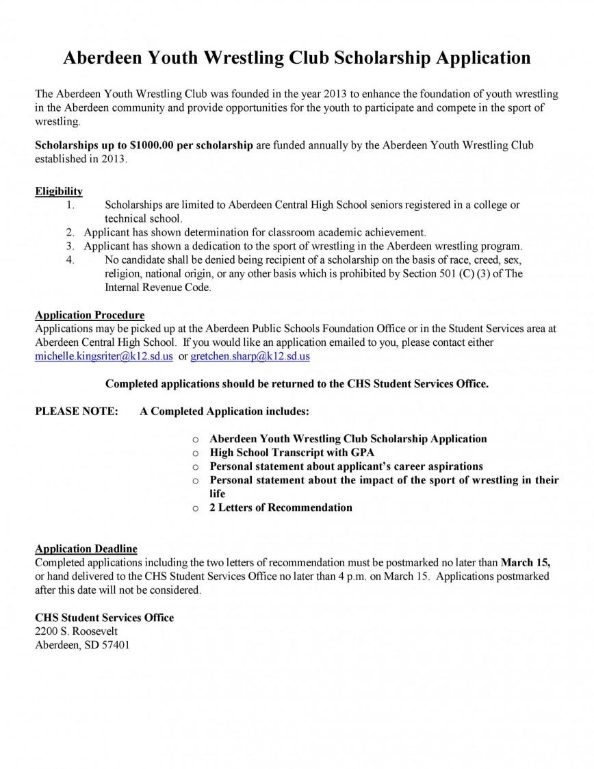003 Astounding Scholarship Application Template Word Idea  Letter Sample College