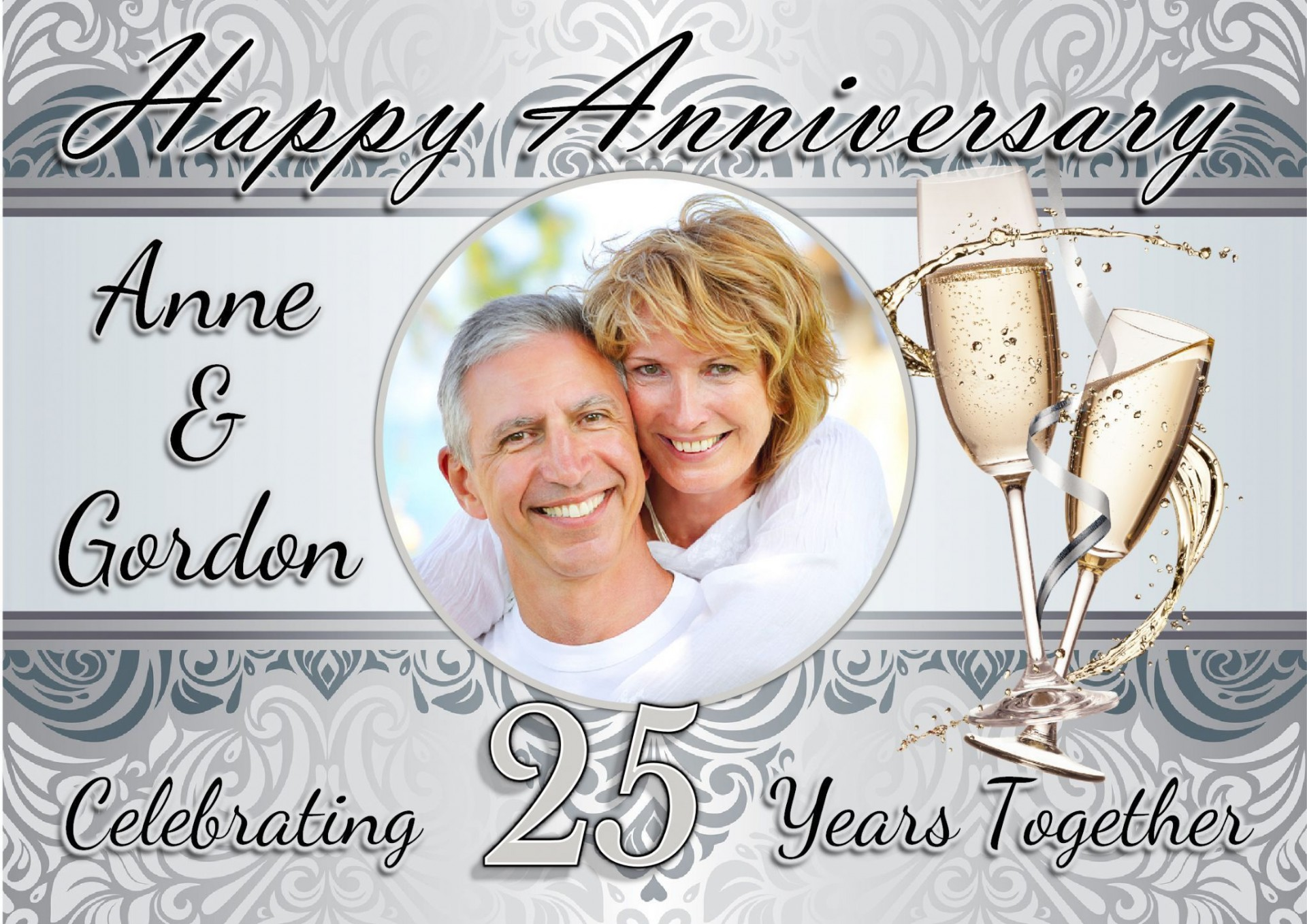 003 Awesome 50th Anniversary Invitation Template Free Picture  For Word Golden Wedding Download1920